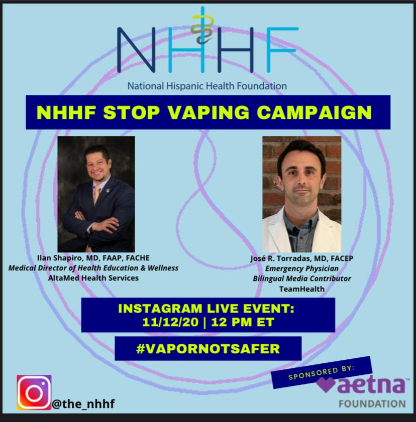 Vaping is the new way to create an epidemic of lung damage in our community. Read more about options, opportunities and how to protect our community.
